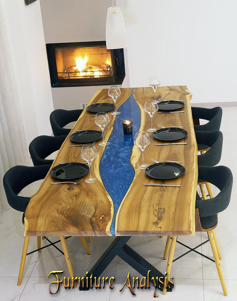 Live Edge Dining Blue River Table